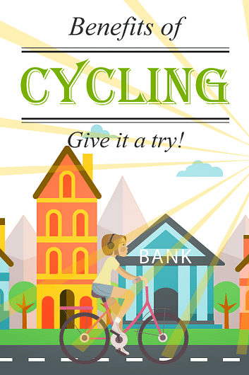 Benefits of Cycling banner